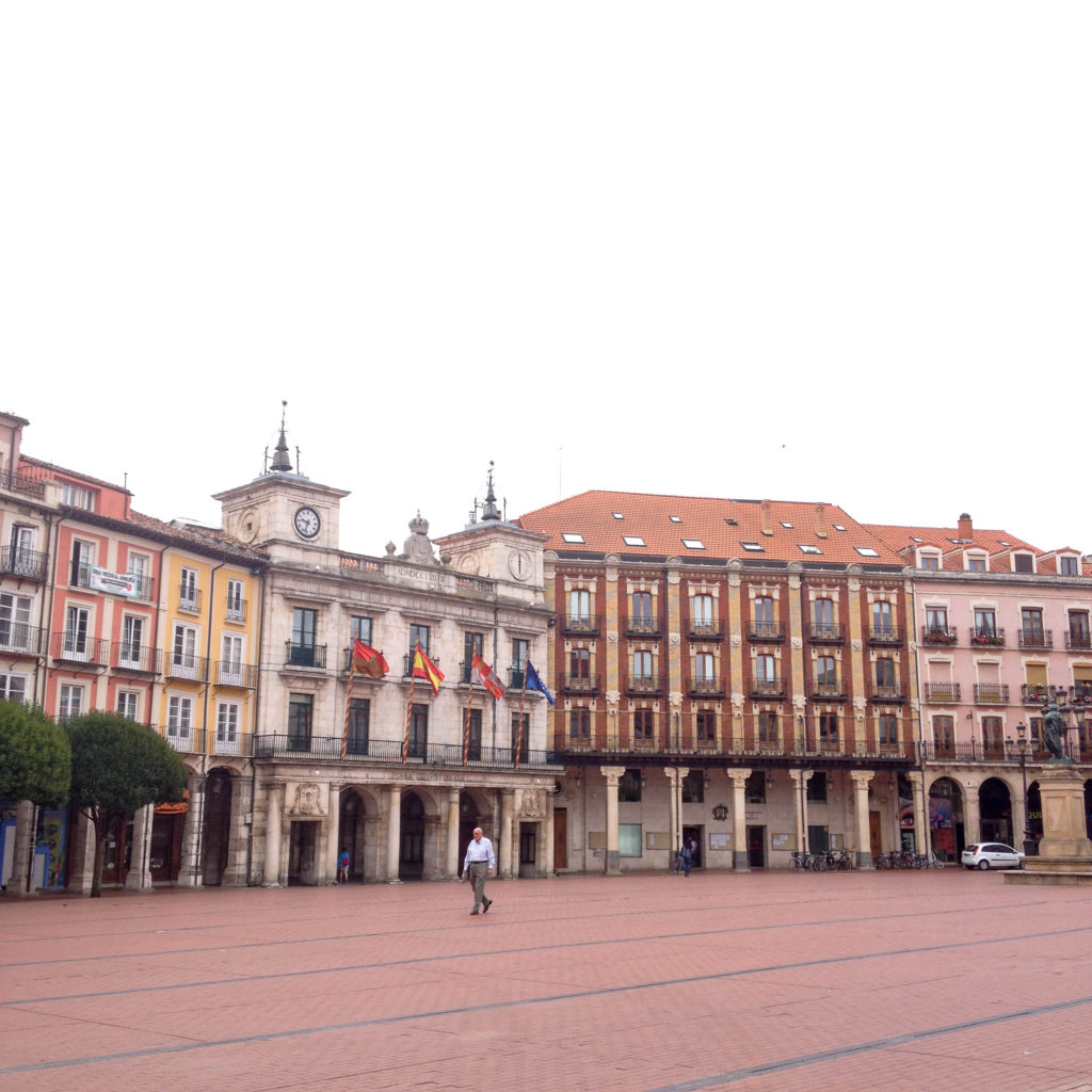 Burgos Castile and Leon Spain Plaza Mayor square