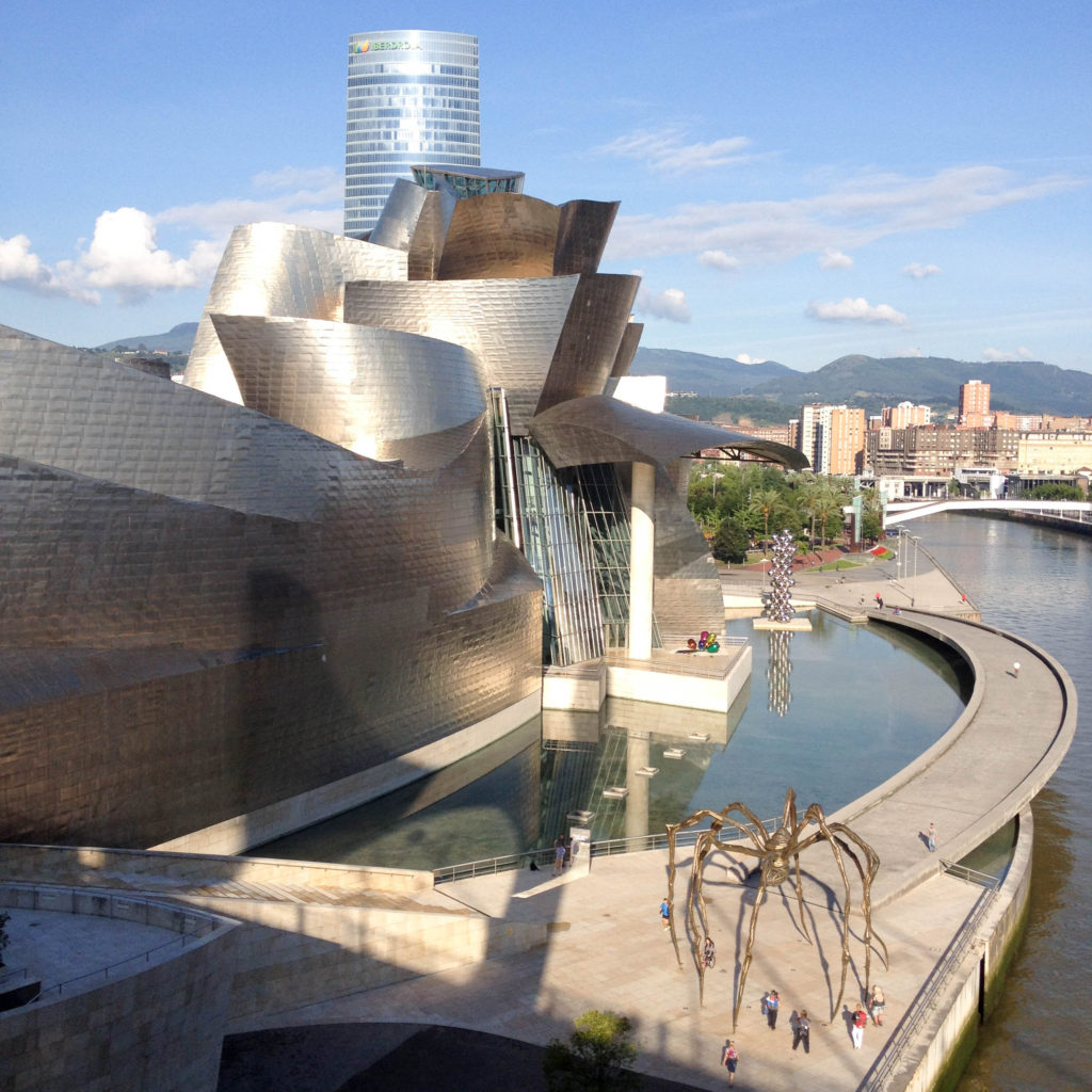 Bilbao Spain Basque country Guggenheim Museum