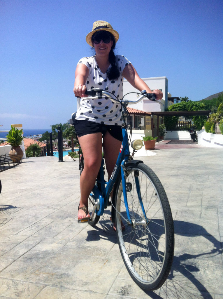 Kos island Greece Vanja Vodenik rent a bike