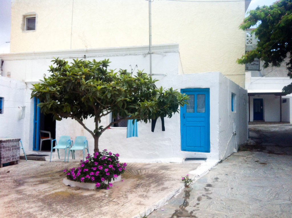 Kefalos island Kos Greece village Greek house