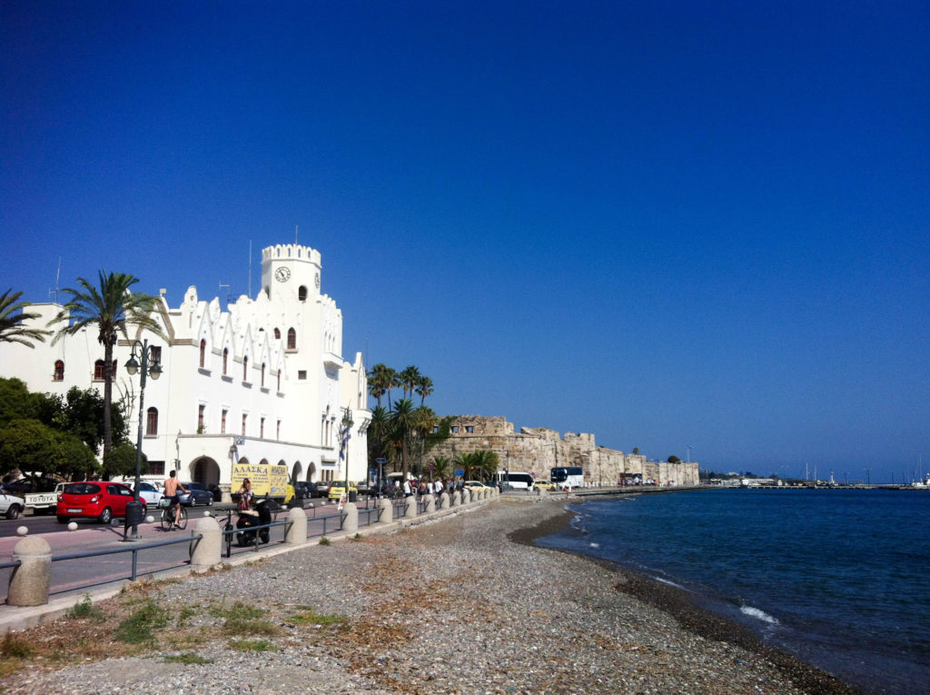 Kos city island Greece Nerantzia Castle of the Knights