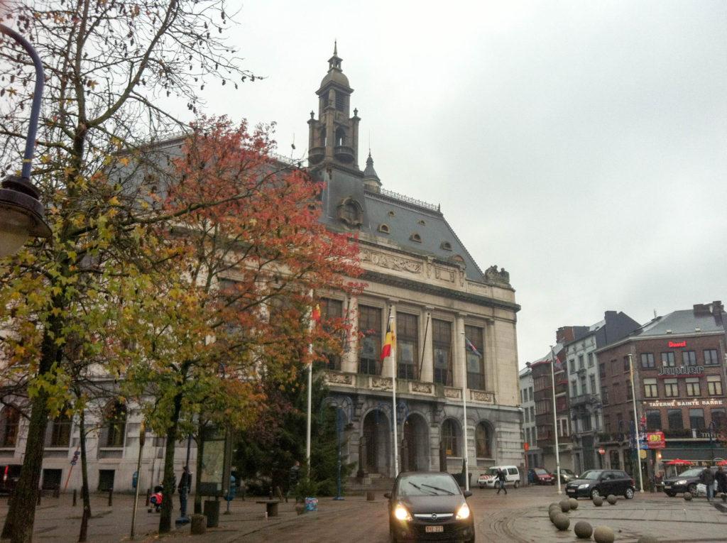 city hall Hotel de Ville Charleroi Belgium