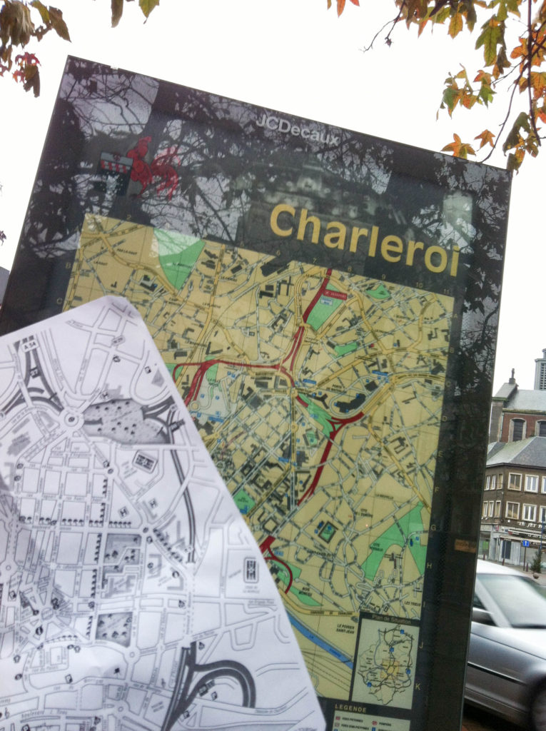 Charleroi Belgium city map