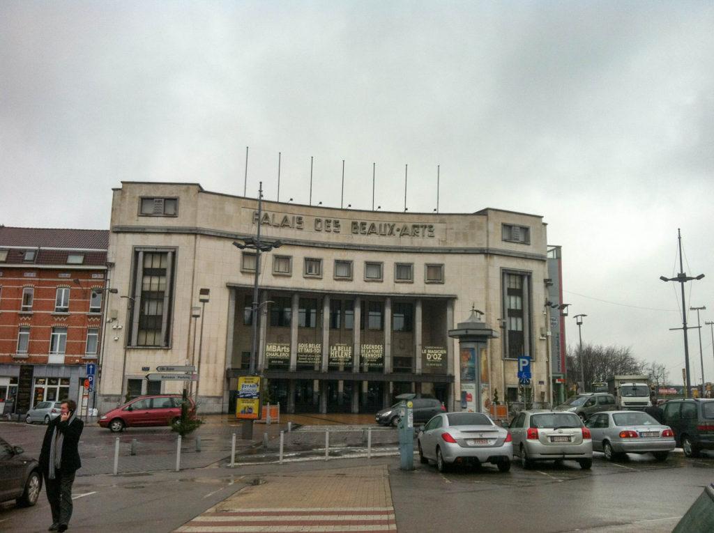 Palais des Beaux-Arts Charleroi Belgium museum fine arts