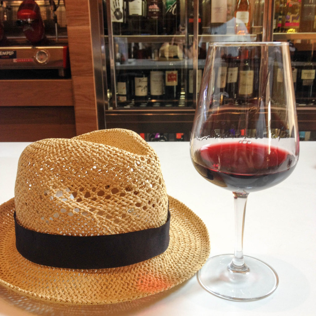 Logroño La Rioja Spain wine region hat