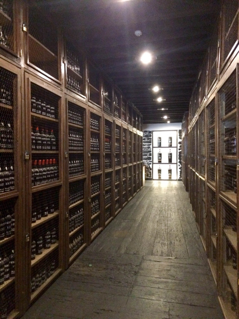 Blandy's Wine Lodge Funchal Madeira Portugal Madeira wine Vintage room