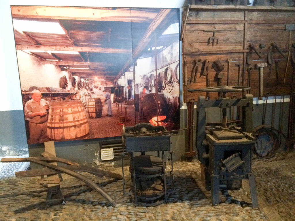 Blandy's Wine Lodge Funchal Madeira Portugal Madeira wine cooperage