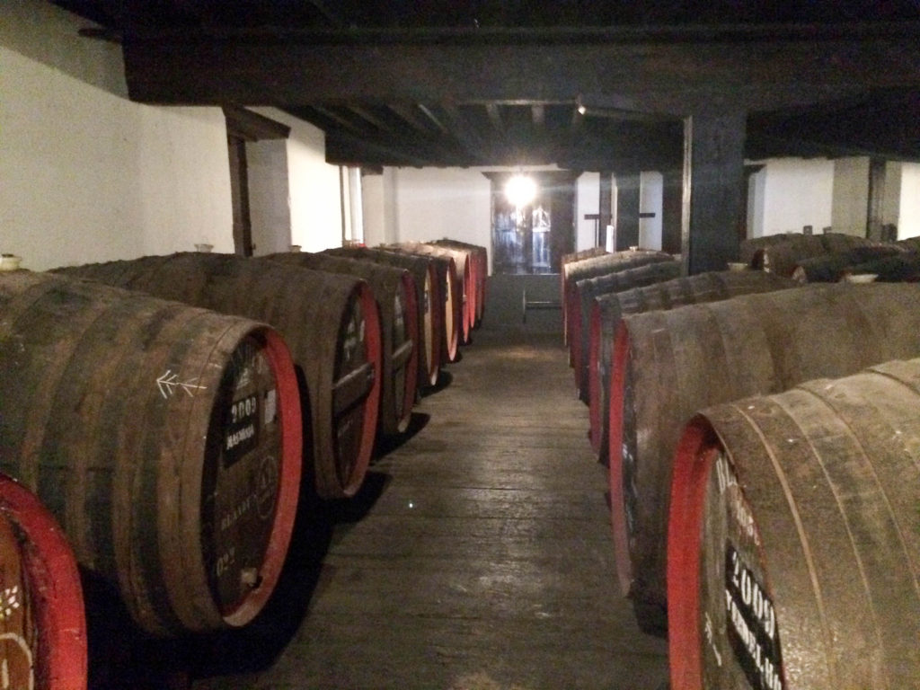 Blandy's Wine Lodge Funchal Madeira Portugal Madeira wine Canteiro Lodge barrels