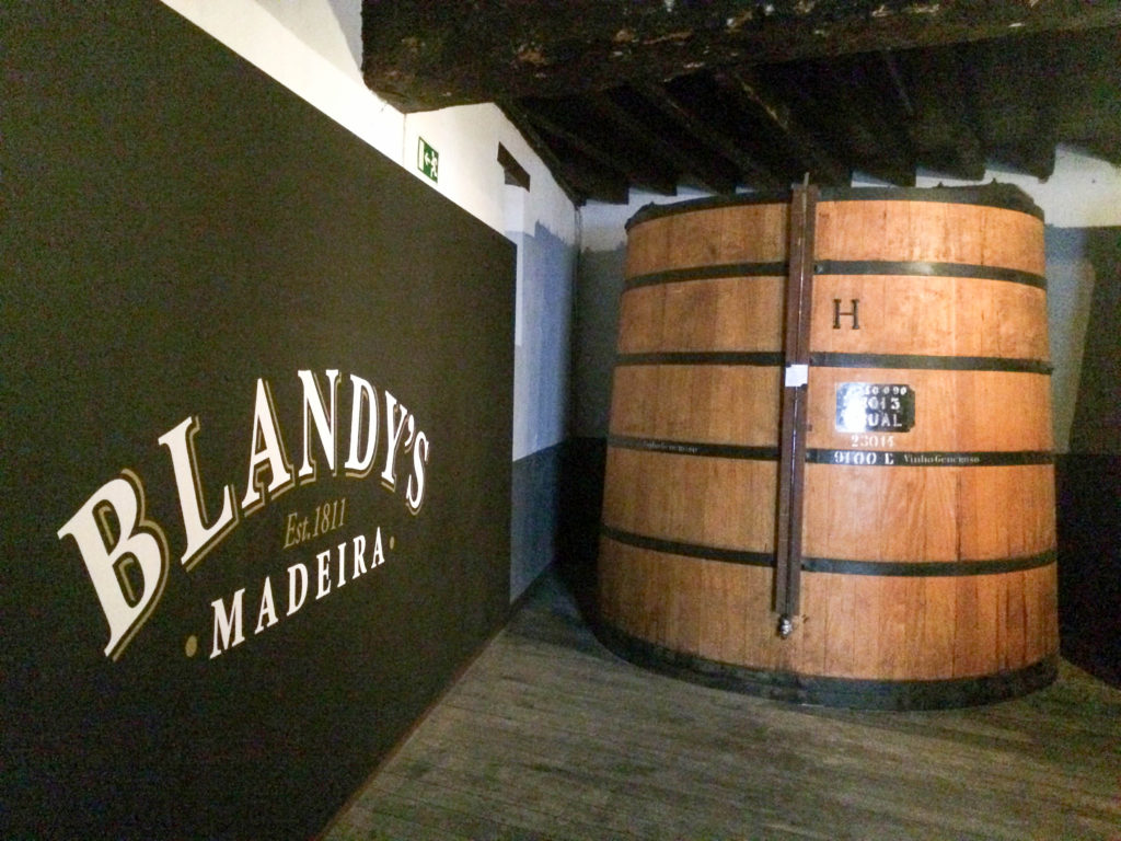 Blandy's Wine Lodge Funchal Madeira Portugal Madeira wine Satinwood Vats