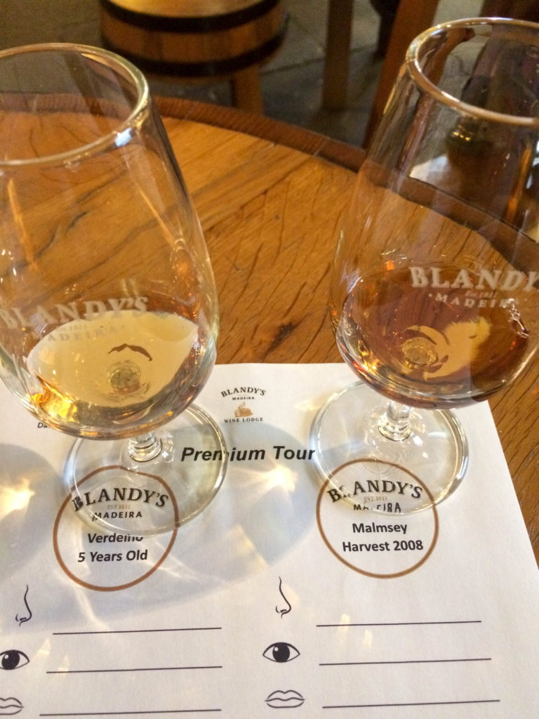 Blandy's Wine Lodge Funchal Madeira Portugal Madeira wine wine tasting malmsey verdelho