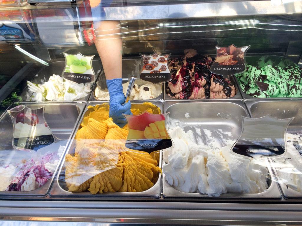 ice cream Funchal Madeira Portugal