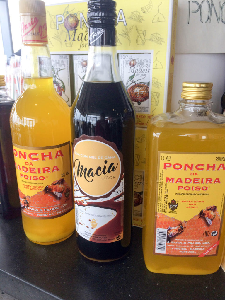 poncha typical drink Madeira Portugal