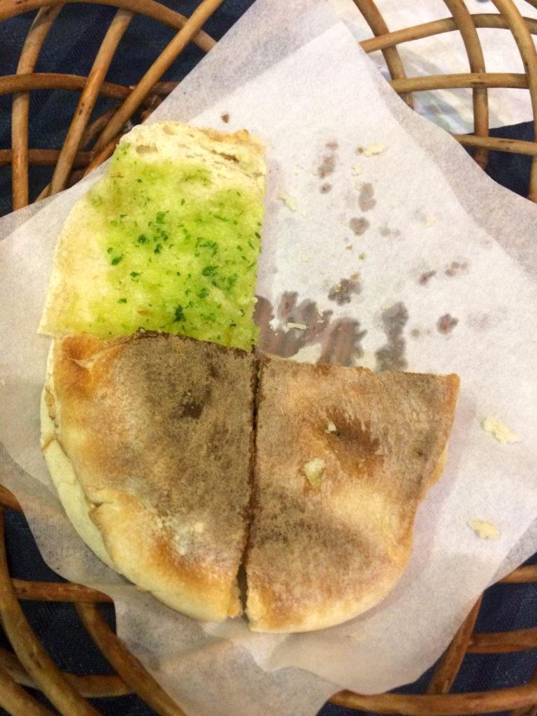 bolo do caco garlic bread typical food Madeira Portugal
