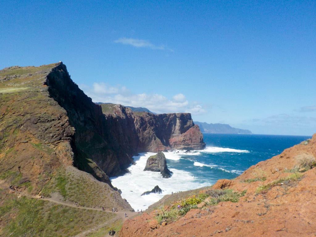 Ponta de Sao Lourenco Madeira Portugal cape