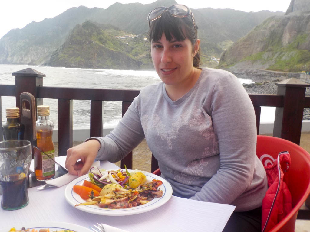 grilled octopus seafood typical food Madeira Portugal Vanja Vodenik