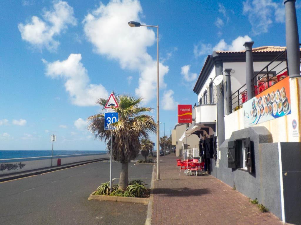 typical food Madeira Portugal restaurant Paul do Mar