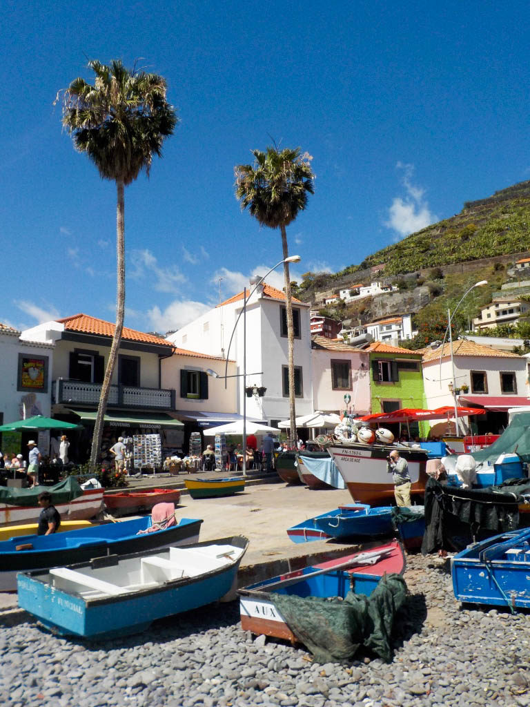 Camara de Lobos fishing village Madeira Portugal