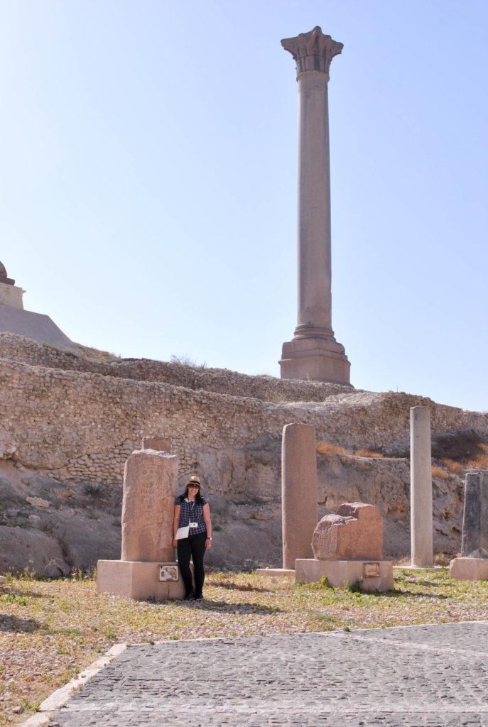 Pompey's Pillar Alexandria Egypt Africa archeological site Vanja Vodenik