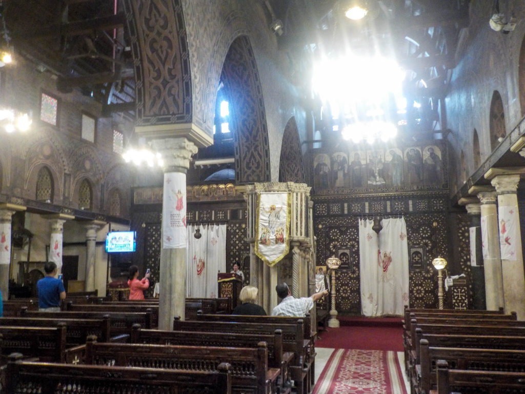 Hanging Church Coptic Cairo Egypt Africa
