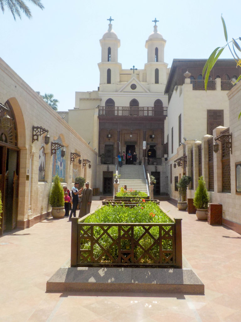 Hanging Church Coptic Cairo Egypt Africa