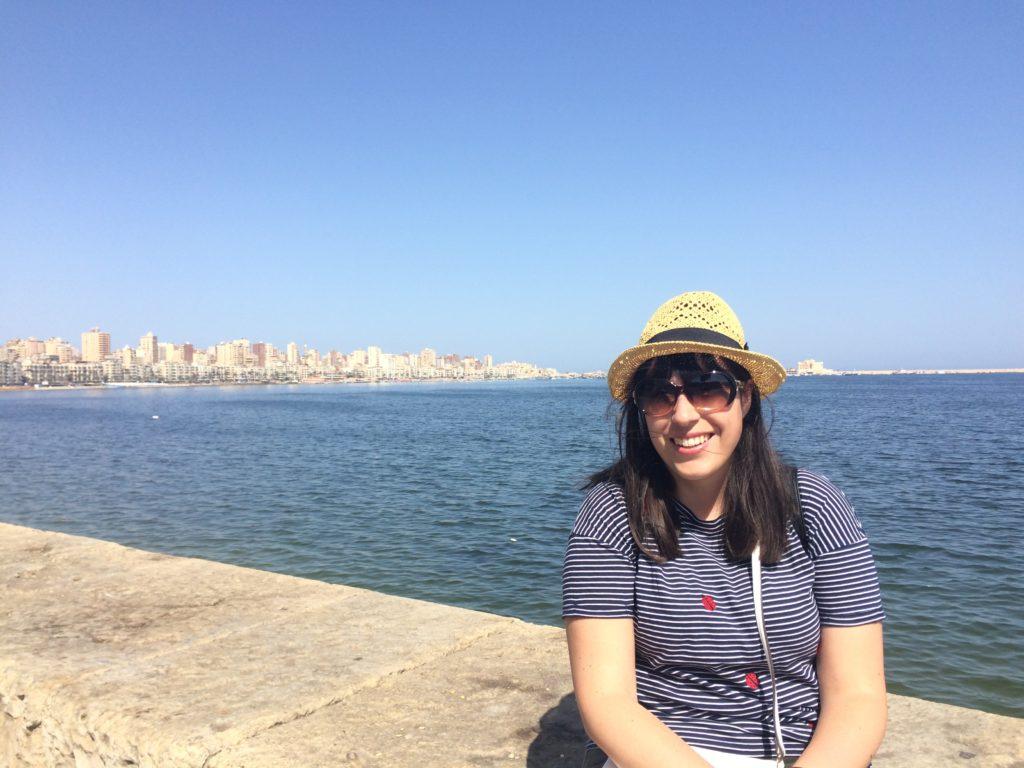 Alexandria Egypt Africa Corniche Mediterranean Sea Vanja Vodenik