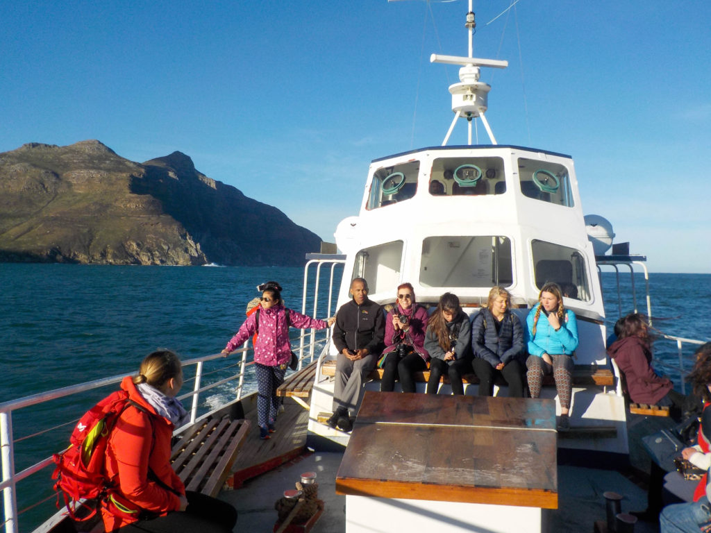 Hout Bay Cape Town South Africa Atlantic Ocean boat ride