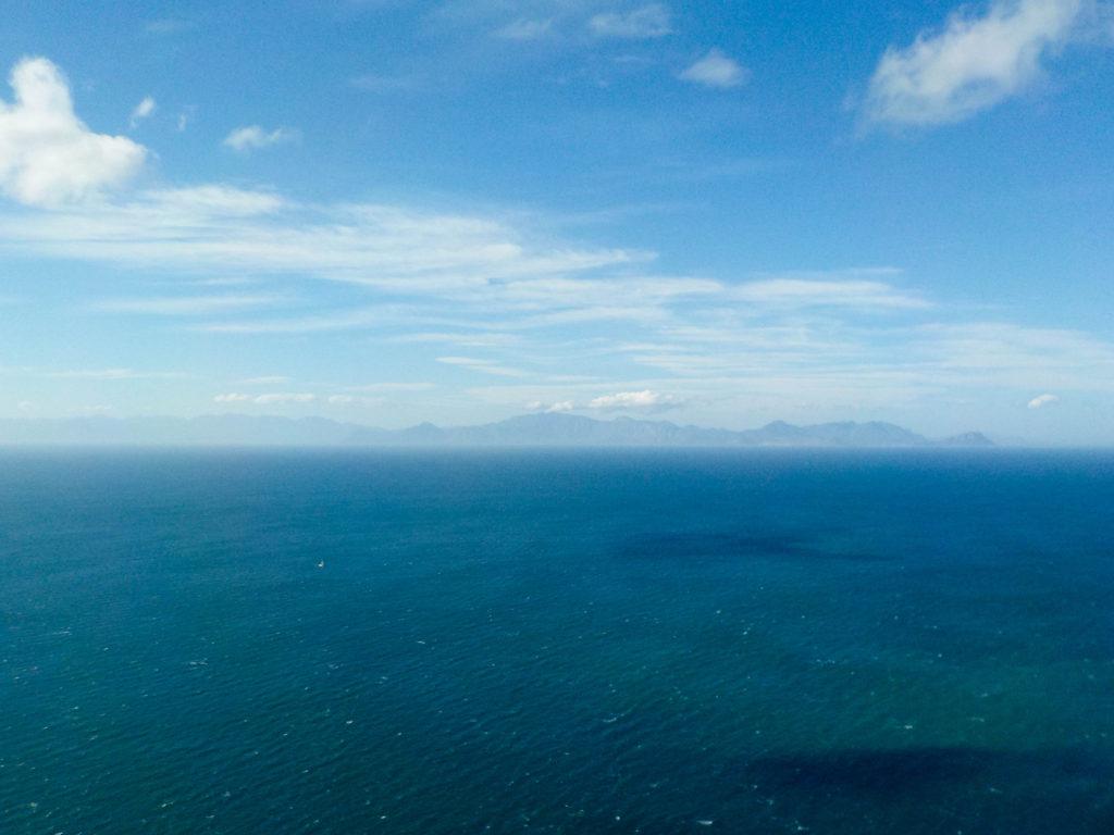 Cape Peninsula Nature Reserve South Africa Atlantic Ocean False Bay