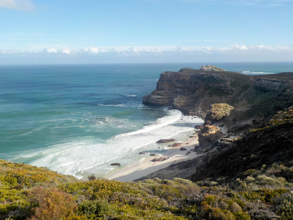 Cape of Good Hope Cape Peninsula Nature Reserve South Africa beach Atlantic Ocean