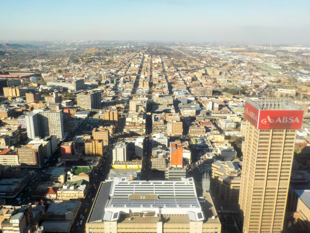 Johannesburg South Africa Carlton Centre city view