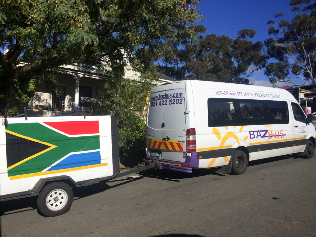 Baz Bus travelling around South Africa backpacking