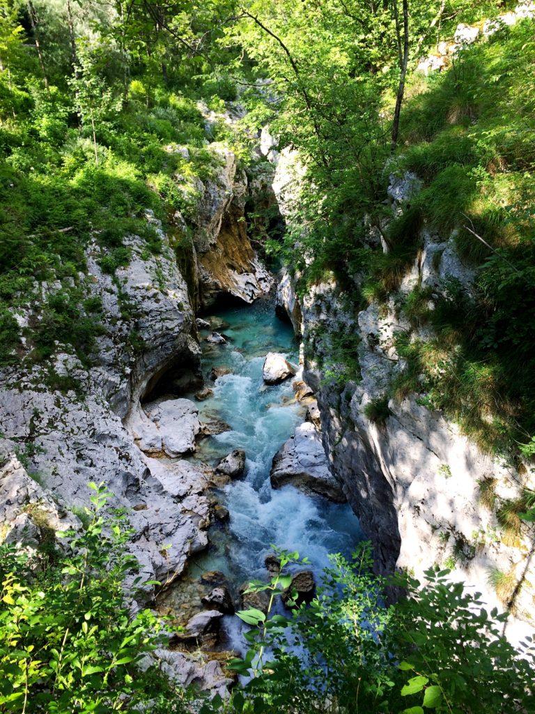 SOča river Trenta Slovenia Europe emerald river