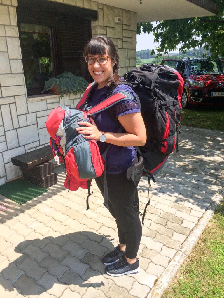 backpacker Vanja Vodenik
