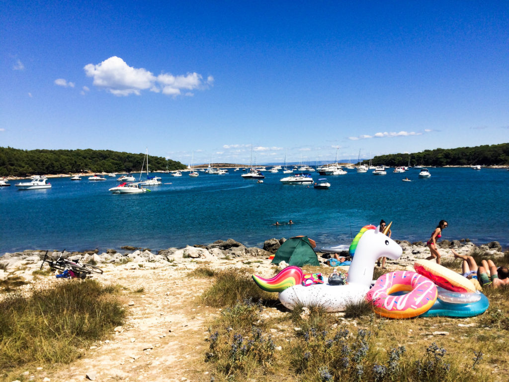 Premantura Rt Kamenjak Croatia beach time Europe summer time