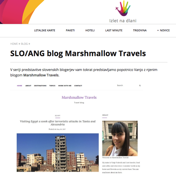 Marshmallow Travels Izlet na dlani