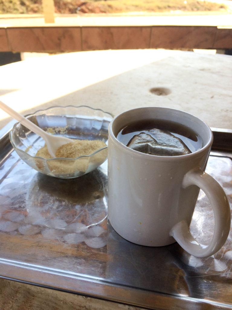 Lobamba Swaziland cafe car shop tea time Africa