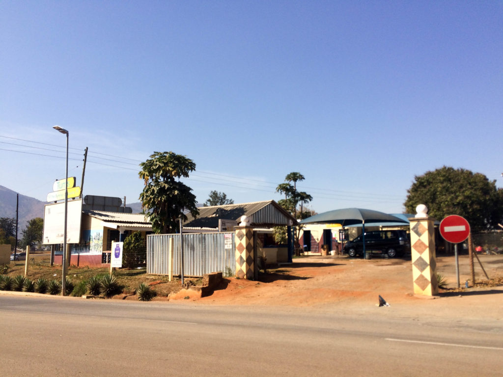 Lobamba Swaziland cafe car shop Africa