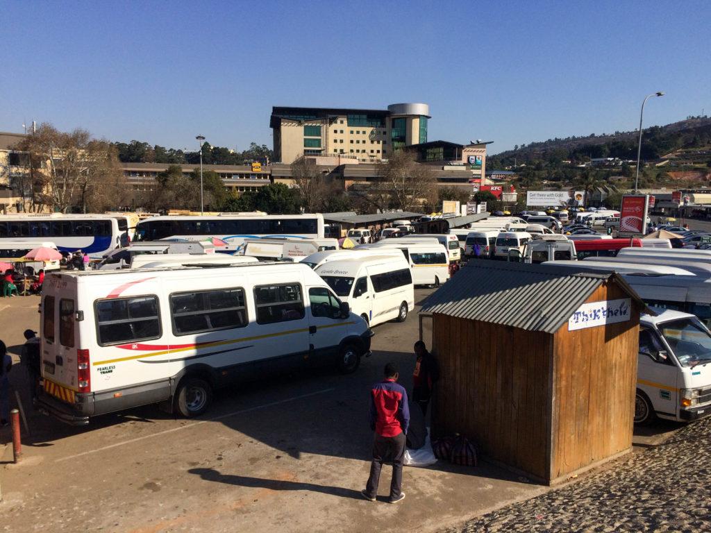 Mbabane bus station Swaziland Africa