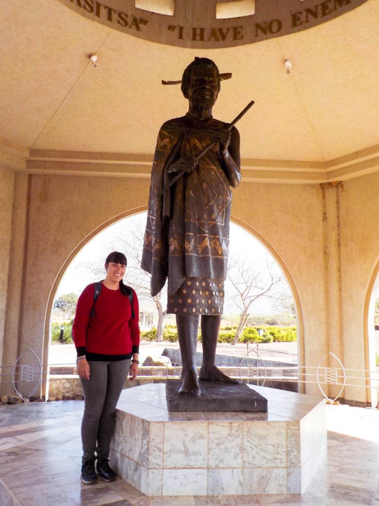 King Sobhuza II Memorial Park statue Vanja Vodenik Lobamba Swaziland Africa