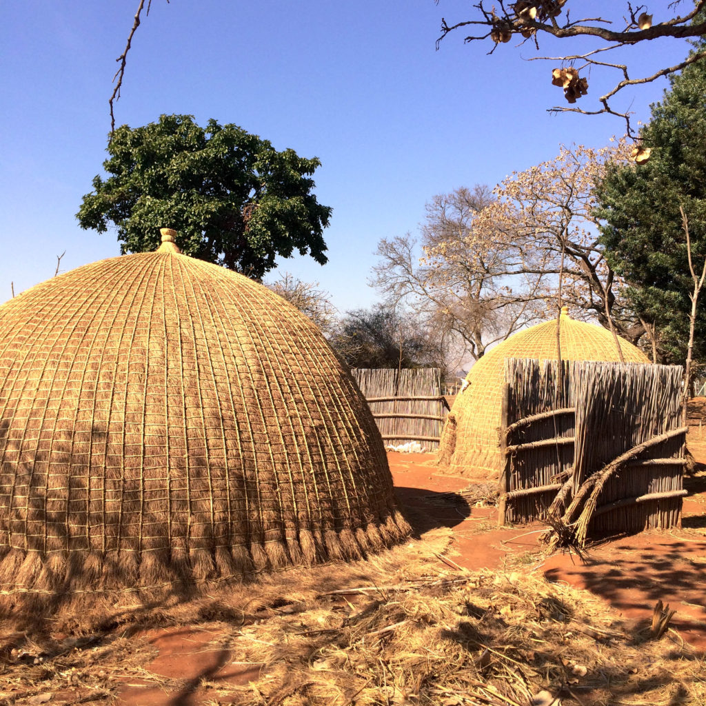 National Museum of Swaziland Lomaba Africa traditional Swazi village beehive huts