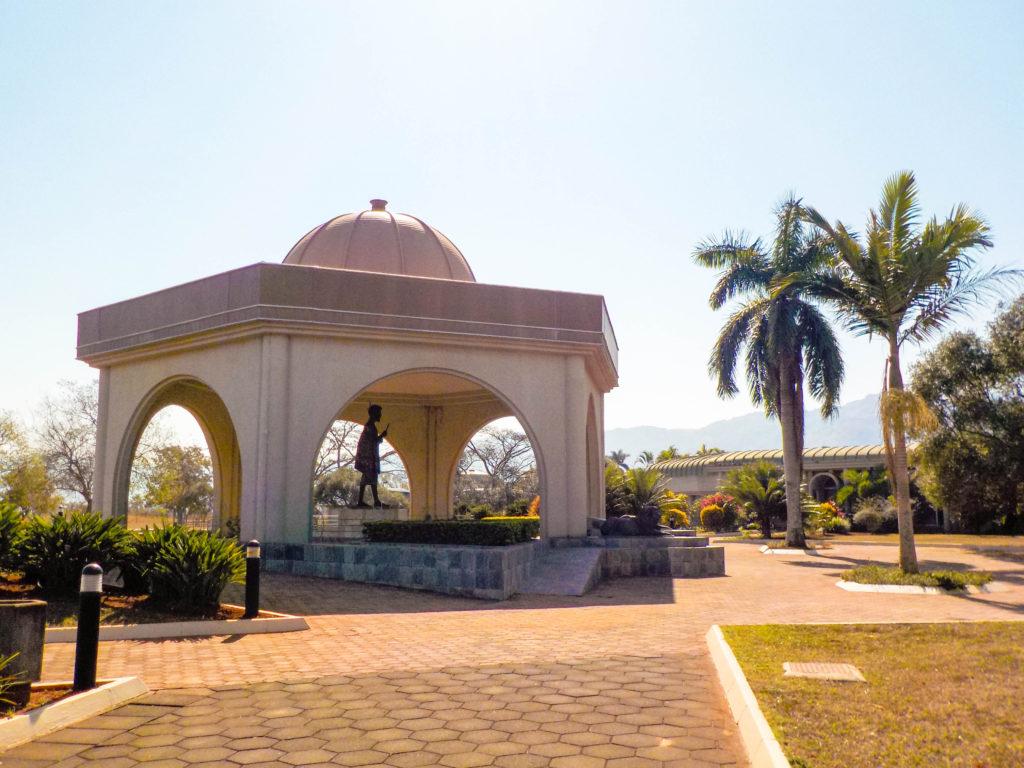 King Sobhuza II Memorial Park statue Lobamba Swaziland Africa