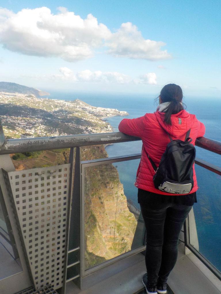 Madeira Portugal Europe island Cabo Girao cliff Vanja Vodenik view