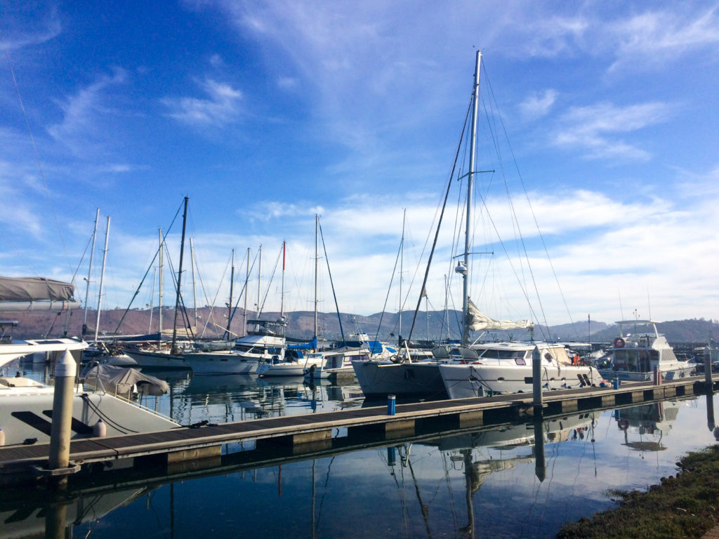 Waterfront Knysna Garden Route South Africa Indian Ocean marina