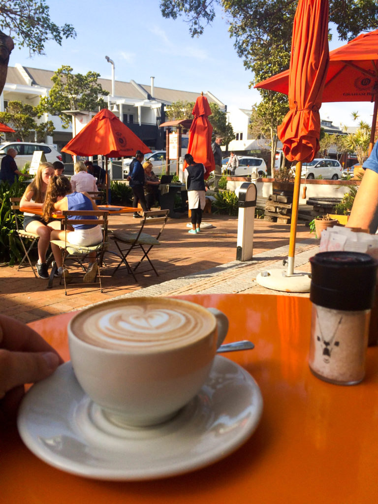 Thesen Islands Knysna Garden Route South Africa Indian Ocean coffee time