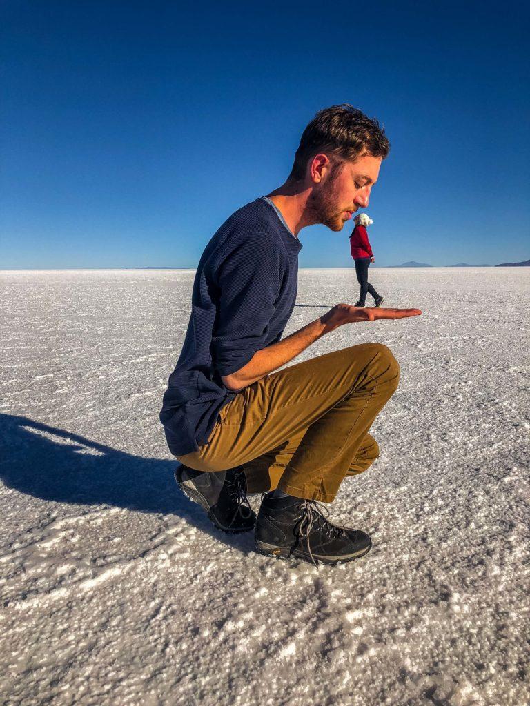 Uyuni Salt Flats Bolivia South America funny pictures Vanja Vodenik Klemen Krulec