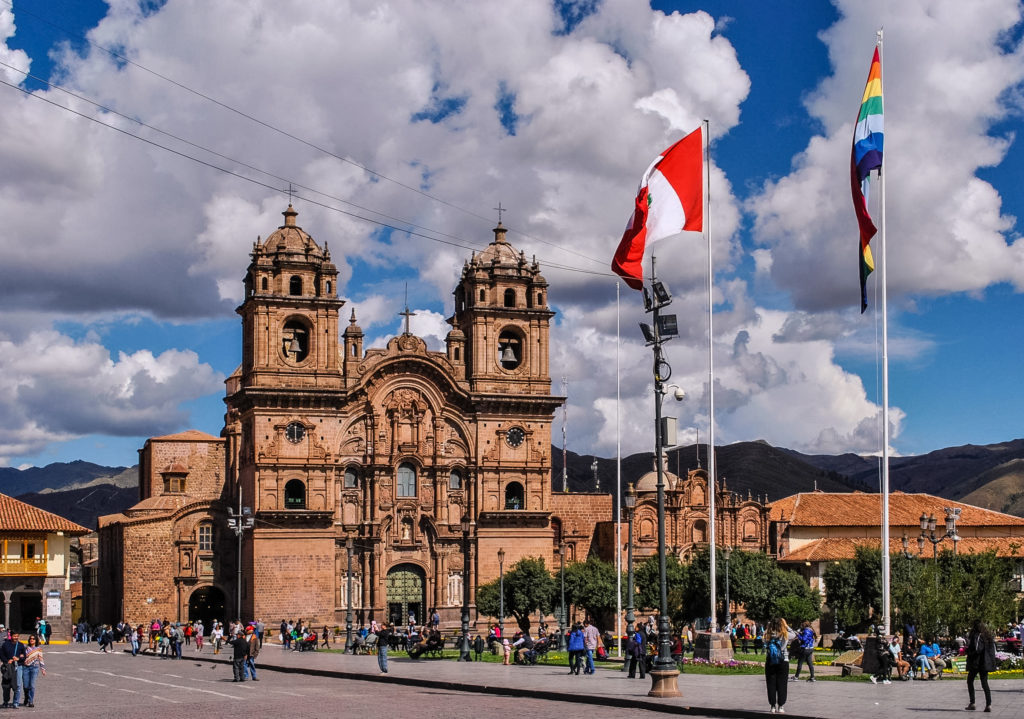 Cusco Peru Plaza de armas South America