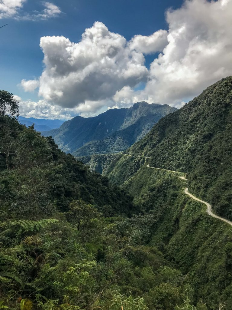 Death Road North Yungas Bolivia South America