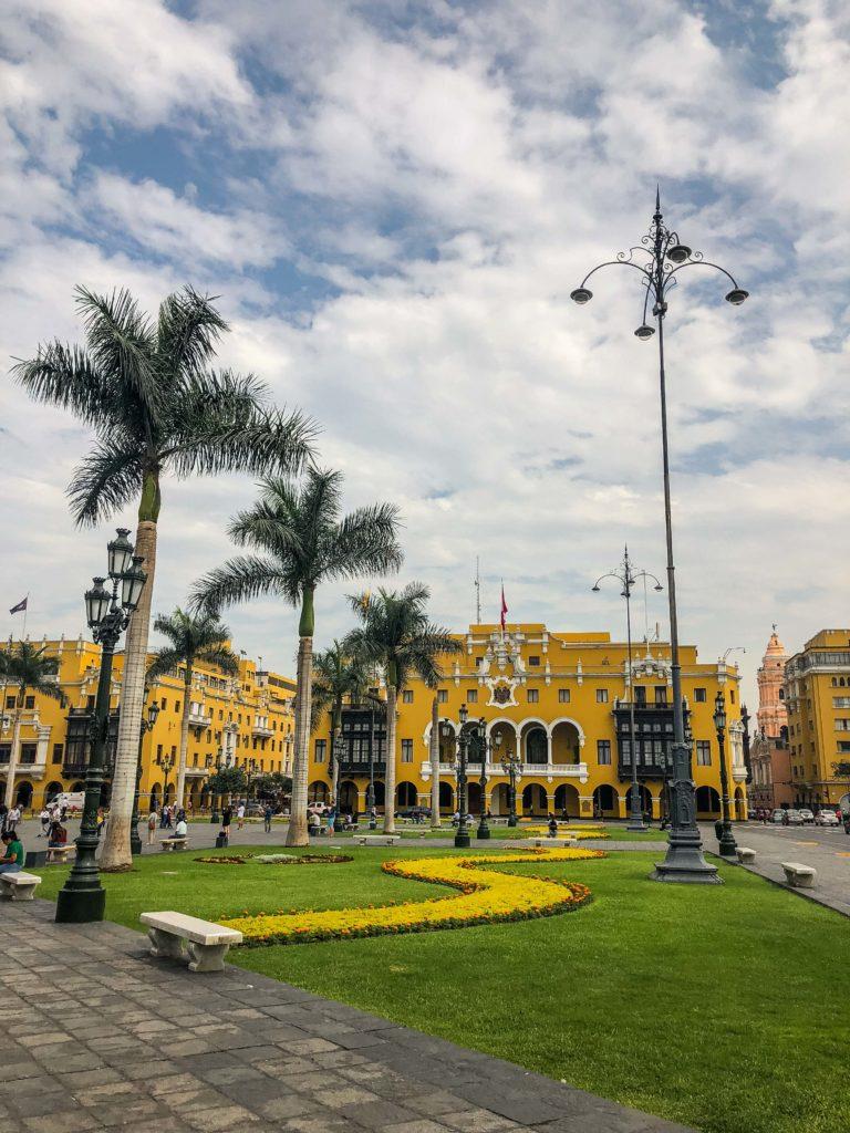 Lima Peru Plaza de armas South America