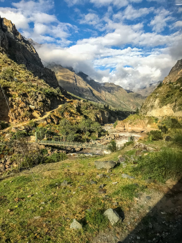 Inca Rail train trip to Machu Picchu Cusco Peru Latin America