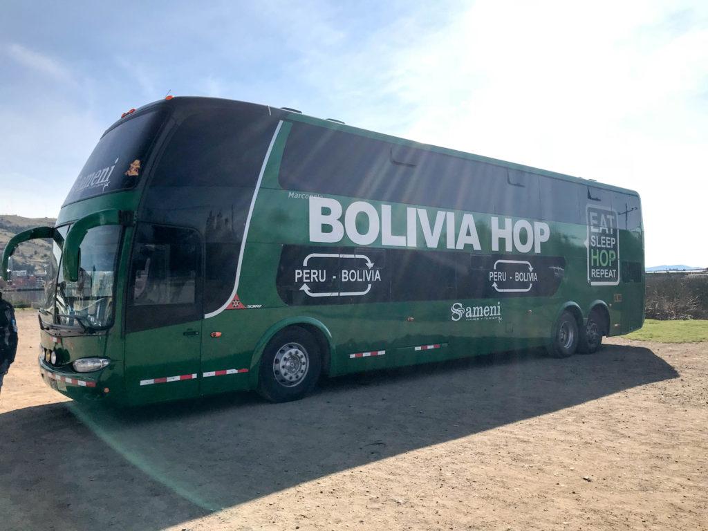 Boliva Hop South America Peru Bolivia