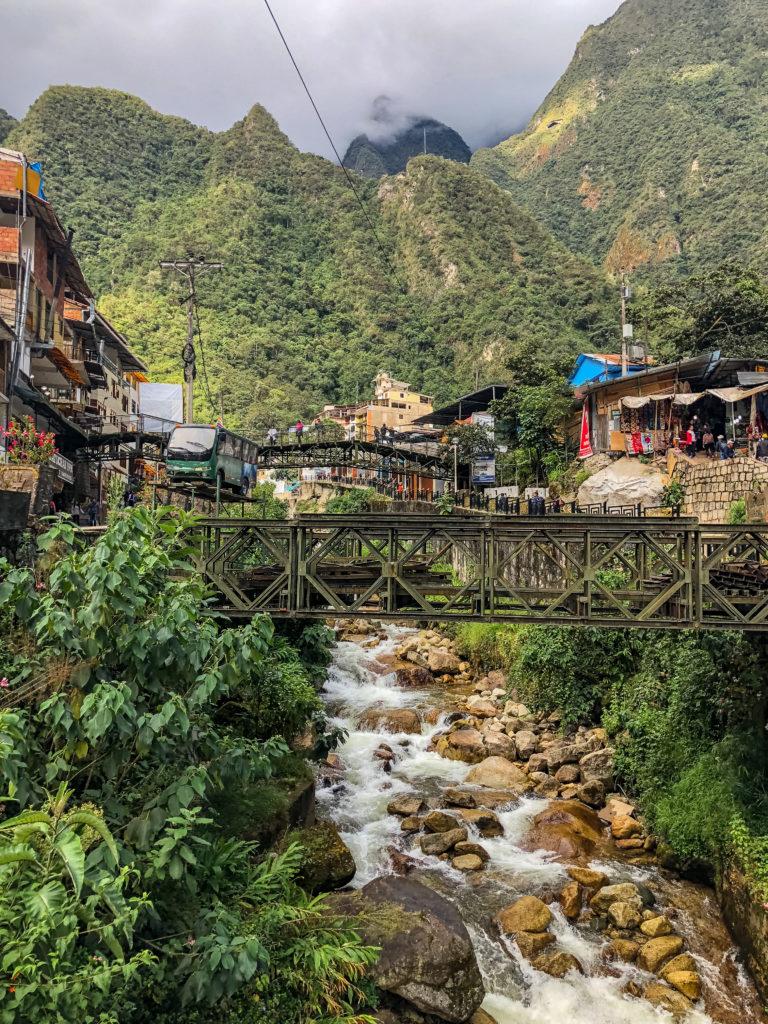 Aguas Calientes Machu Picchu Cusco Peru Latin America